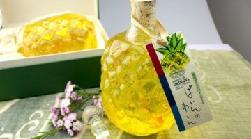 Pineapple wine Ryukyu glass bottle 720 ml